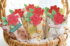 Pretty Party Birthday Favors :: Roree Rumph - Crate Paper Yes. Diy Party, Party Gifts, Party Ideas, Birthday Party Favors, Birthday Parties, Birthday Ideas, Party Favor Bags, Party Favours, Favor Boxes
