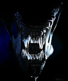 Aliens by EdwardRuiz Alien Pictures, Man In Black, Alien Resurrection, Predator Alien, Hr Giger, Aliens Movie, Alien Art, Sci Fi Art, Dark Horse