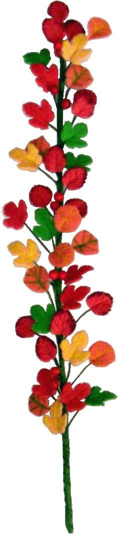 <3 <3 <3 Autumn Vine - This dollhouse miniature landscaping item is a miniature Autumn Vine.