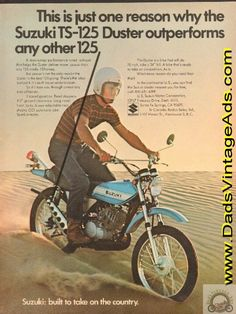 1971 Suzuki TS-125 Duster – one reason it outperforms any other 125 motorcycle