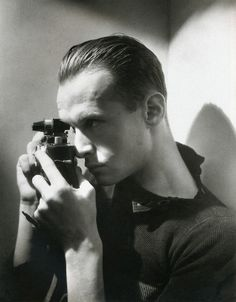 The Master, Henri Cartier-Bresson, ca 1933 -by George Hoyningen-Huene.