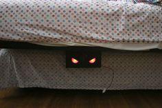 Monster Under the Bed Sponsored by RadioShack #arduino #prank
