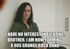 """I say """"Frost Giant on Asgard"""" is a perfect name for a 90s grunge band.  A friend says """"Rock of Asgard"""" is better.  She doesn't know what she's talking about."""
