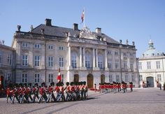 Denmark - Amalienborg Palace Square.  Loved this trip!  We rented a flat from locals just a few blocks from here!  Beautiful city