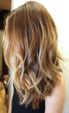 Light brown with golden blind highlights- light blonde framing face