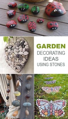 Garden Decorating Ideas Using Stones