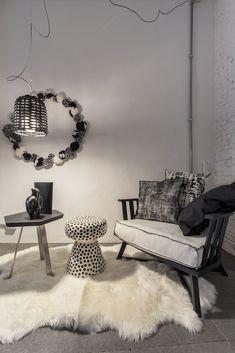 Paola Navone Living Furniture, Furniture Design, Interior Exterior, Interior Design, Black And White Furniture, Paola Navone, Love Seat, Living Spaces, Couch