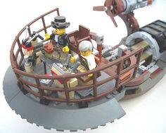 Steampunk LEGO airsh...