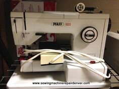 Pfaff Sewing Machine Repair Denver #pfaff #vintage