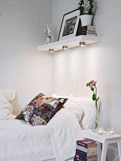sugestão para quem adora ler na cama