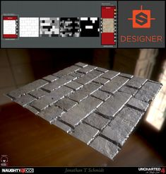 ArtStation - Uncharted 4 - Substance, Jonathan T Schmidt & Jose Vega
