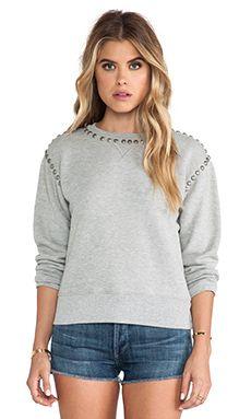 Citizens of Humanity Premium Vintage Camryn Sweatshirt in Studded Heather