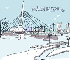 Winnipeg city guide on design*sponge Voyage Canada, Spring Breakers, A Whole New World, Lake Life, Map Art, Trip Planning, Great Places, Travel Guide, Travel Things