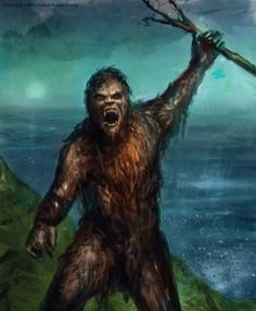Our beloved North American Bigfoot has many names across the world (such as Yeti and Sasquatch) but in Australia, the secretive cryptid is known as Yowie. In the eastern part of the country, the Yowie is described in Aboriginal folklore as roughly seven to twelve feet in height with large, Bigfoot-like feet.