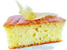 Prajitura cu gris si lamaie No Cook Desserts, Sweet Memories, Desert Recipes, Cornbread, Vanilla Cake, Fudge, Gluten, Sweets, Cookies
