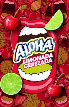 "Crem Helado ""Aloha Cherry Lemonade"" Cherry Lemonade, Advertising Archives, Creative Director, Presents, Product Launch, Gifts, Favors, Gift"