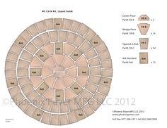 Bergerac Circle Pavers Circle Kit For Bergerac Circle