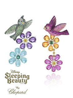 The Disney Princess Collection by Chopard. Sleeping beauty.