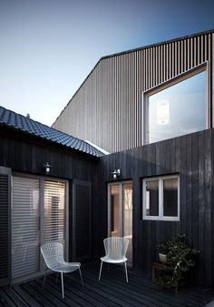 HOUSE EXTENSION by Pawel Podwojewski, via Behance