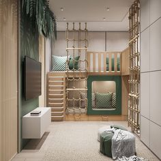 Babyzimmer Einrichten Interior Design on Behance Behance :: Galeries certifiées How to set up a baby Awesome Bedrooms, House Interior, Cool Rooms, Kids Room Design, Interior, Kid Room Decor, Room Design, Bedroom Design, Cool Kids Rooms