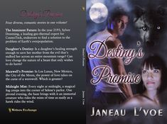 Four diverse, romantic stories in one volume! Save Her, Werewolf, Destiny, Thriller, Mists, Science Fiction, Books To Read, Writer, Romance