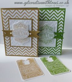 Chevron Chalk Talk Cards by Independent Stampin' Up! Demonstrator Traci Cornelius of www.getcreativewithtraci.co.uk
