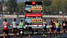 Rock and Roll Lisbon marathon - Contact us to book a trip there. www.fittotravelvacations.com