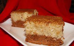 Prajitura bicolora de post Raw Vegan, Cornbread, Vanilla Cake, Banana Bread, Gem, Diy And Crafts, Cheesecake, Veggies, Food And Drink