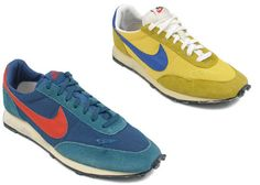 hot sales 1a3a7 6e005 early running shoes Yellow Nikes, Vintage Nike, Casual Shoes, Trainers,  Running Shoes