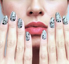 ladyfancynails: Kokontozai Inspired Nails Photography & face by @alev10