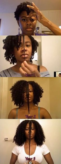 Wow, I've watched her progress on YouTube. Her videos are awesome.. #101LadyT #naturalhair