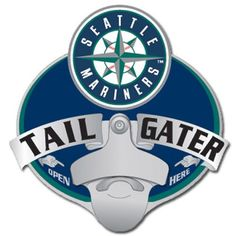 Seattle Mariners MLB Tailgater Hitch Cover
