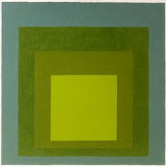 "Josef Albers, ""Homage to the Square"" (1962) 