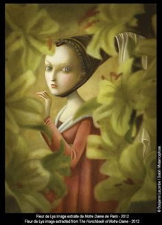 Benjamin Lacombe -from the Hunchback of Notre Dame