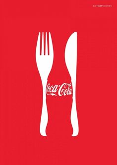 This Coca Cola advertising image shows the gestalt principle by using t. This Coca Cola advertising image shows the gestalt princi Creative Advertising, Ads Creative, Advertising Agency, Advertising Design, Advertising Ideas, Creative Director, Advertisement Examples, Guerrilla Advertising, Advertising Poster