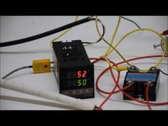 Set-up and install of a Berme REX PID Controller on a KILN for annealing glass. How to adjust temperature. Custom made or parts Pid Controller, Brewing Equipment, Garage Tools, Powder Coating, Knife Making, Science And Technology, Youtube, Youtubers