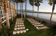 Hotel Portofino & Yacht Club, Redondo Beach (did wedding here)