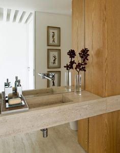 10 banheiros com madeira