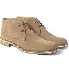 Tod's no code suede desert boots