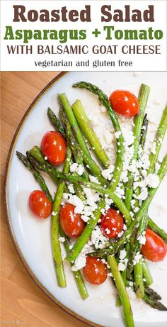 with balsamic vinegar and crumbled goat cheese. Best roasted vegetable ...