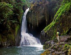 Sevegre waterfall, Costa Rica.