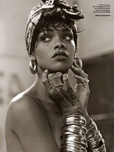 Rihanna in Vogue Brasil