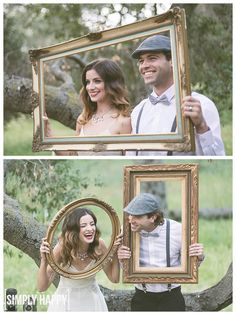 Los Angeles Wedding Photography | Vintage Photobooth Outdoors