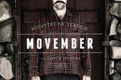La moustache est l'attribut des grands hommes #Movember