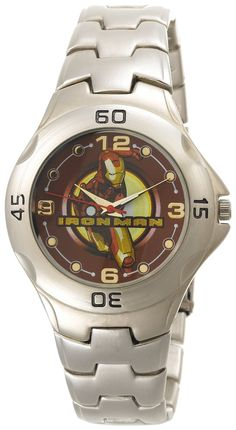 Marvel Comics Men s WX2561930DC Iron Man Limited Edition Stainless Steel  Watch e4525811a7