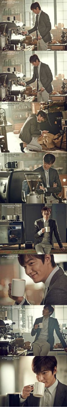 Minoz montage about Lee Min Ho for CF