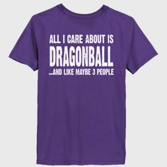 All i Care About Is Dragonball tshirt - Ladies' 100% Ringspun Cotton nano-T® V-Neck T-Shirt Backprint Only