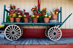 Flower Wagon