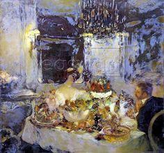 Gaston La Touche ~ Post-impressionist painter | Tutt'Art@ | Pittura • Scultura • Poesia • Musica