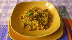 Ricetta: Risotto allo Zafferano con Zucchine e Salsiccia